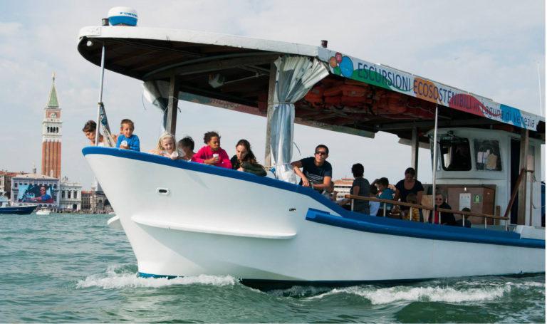 gita barca viaggio scolastico venezia